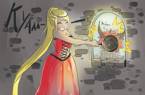 une princesse et un dragon