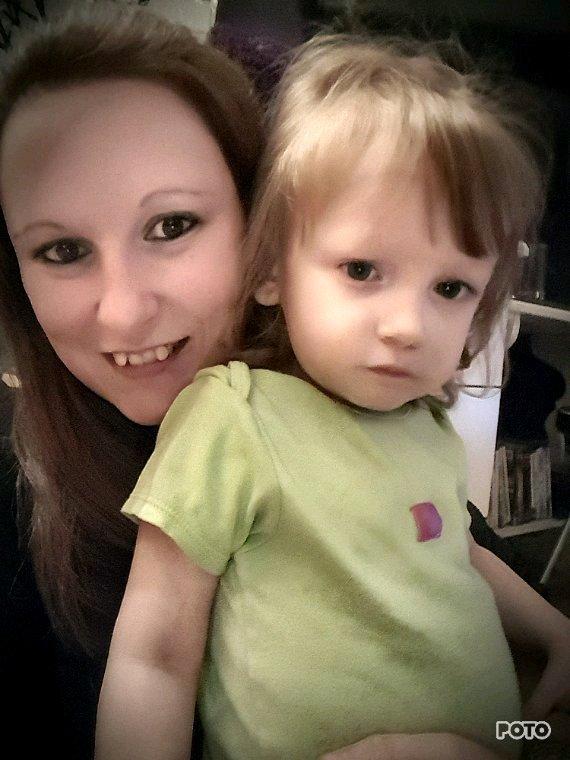 Moi et ma fille ♡