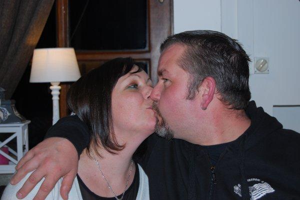 Petit bisou de Chris et Aurore