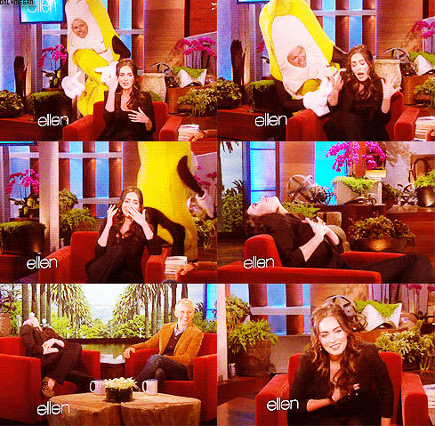 08/03/2012 : Megan était chez Ellen DeGeneres + Megan fait une pub pour la marque Starbar de Suède.