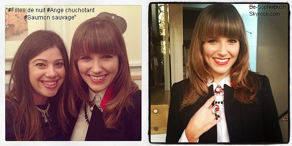 05/04 : Deux nouvelles photos de Sophia postées par la créatrice de bijoux Nola Singer.