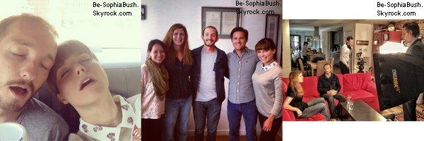 28/04 : DIVERS : Voici différentes photos de Sophia lors de la soirée White House Correspondents Association Dinner.