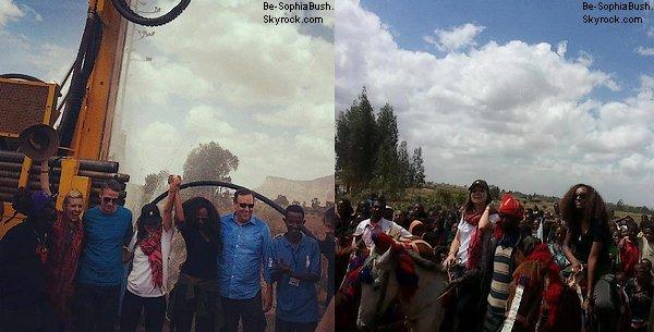 DIVERS : 13/05 : Deux nouvelles photos de Sophia en Éthiopie.
