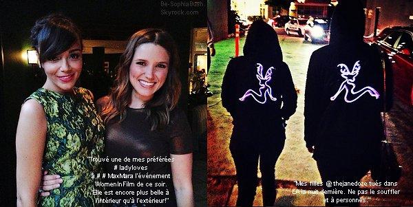 DIVERS : 12/06 : Deux photos postées par la belle sur Instagram.