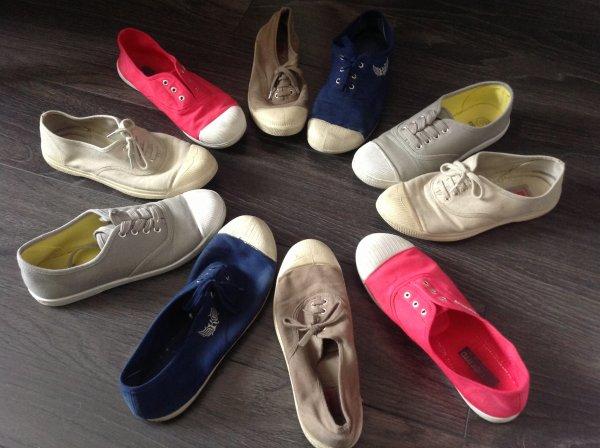 Chronique:Le retour des chaussures en toile !!!!!