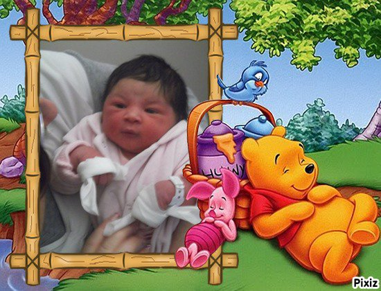 aaliyah ma fille a la naissance