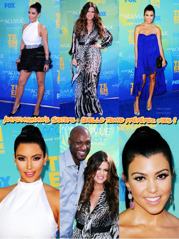 Khloe Kardashian - Kim Kardashian - Kourtney Kardashian