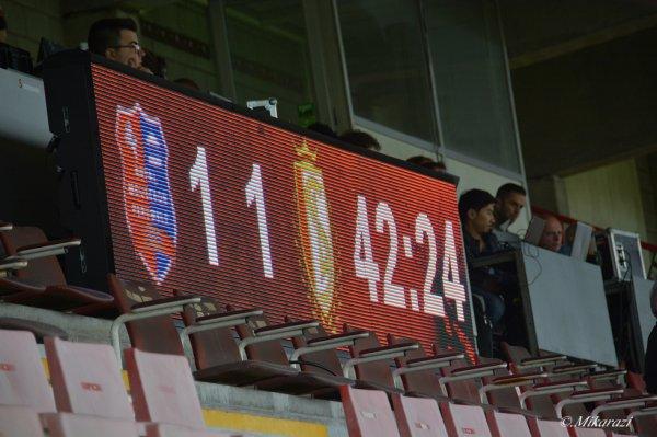 Mouscron-Péruwelz - Standard de Liège 1-1