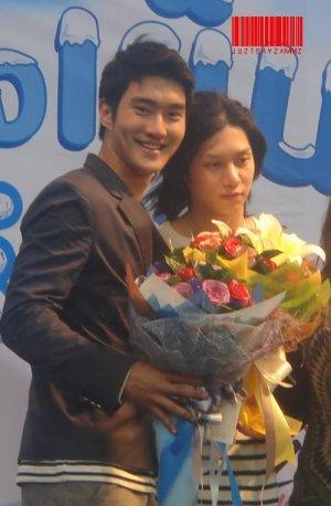Kim Chery + Siwon ???