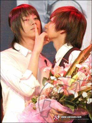 Kim Chery + Leeteuk ???