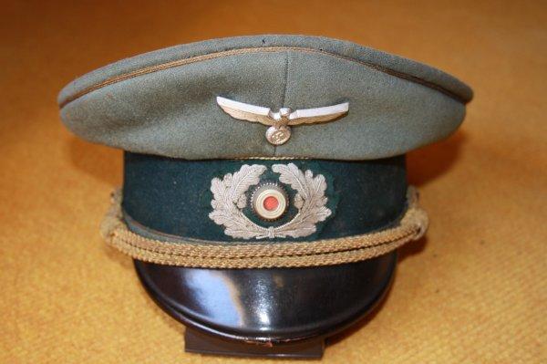 Casquette de général Allemand.