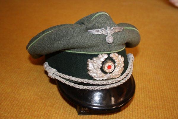 Casquette Allemande infantrie moto/mécanisée 41/45 (panzergrenadiere)