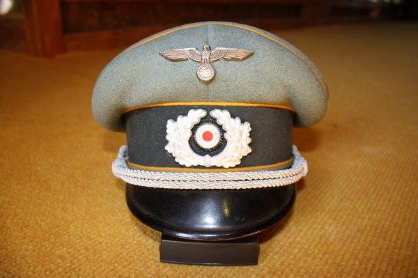 Casquette Allemande Officier, Cavalerie.