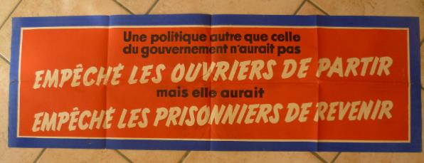 Affiche Française 40 X 120