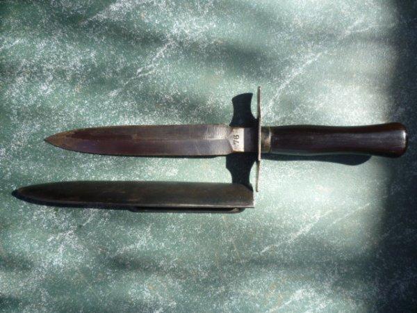 Couteau Français de tranchée 14/18 (Le vengeur )