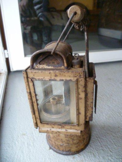 Lampe Allemande couleur sable.