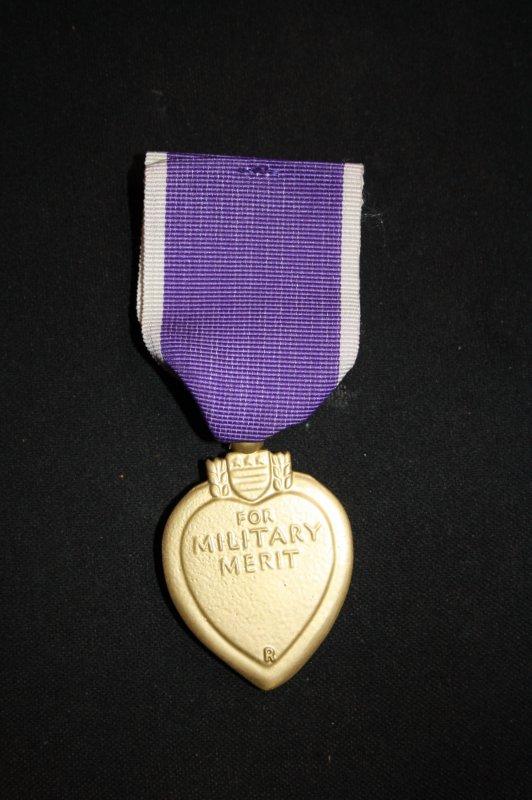 Médaille des blessés Amércaine. (reproduction)