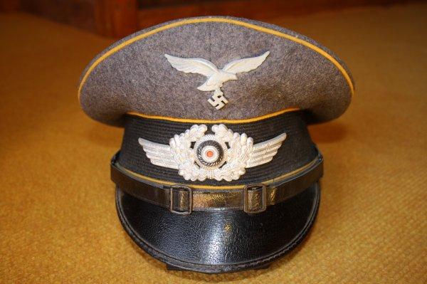 Casquette Allemande sous-officier pilote.