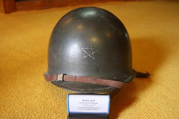 Casque Français de la 2éme Division Blindé.