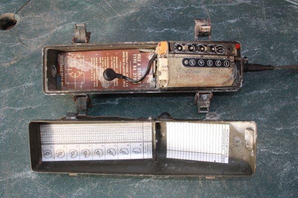 Téléphone de campagne PP8 Français époque Algérie.