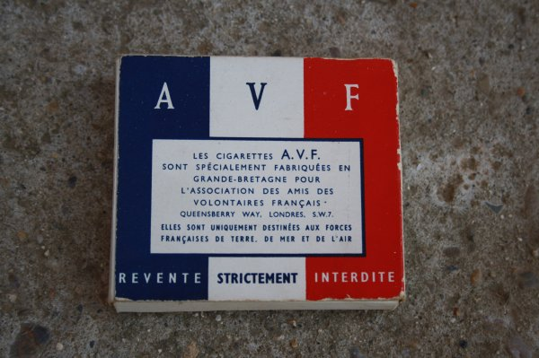 Paquet cigarette Français.
