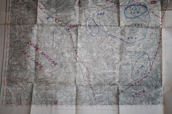 Carte UNIQUE de LUNEVILLE(Passage de la 2éme DB) Don du jour.