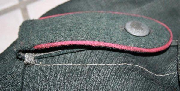 Veste treille vert rozo allemand de la panzer (suite).