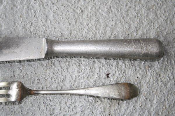 fourchette et couteau allemand mat riels militaire 14. Black Bedroom Furniture Sets. Home Design Ideas