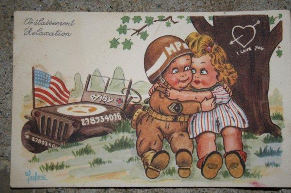 Très belle et ancienne carte postal