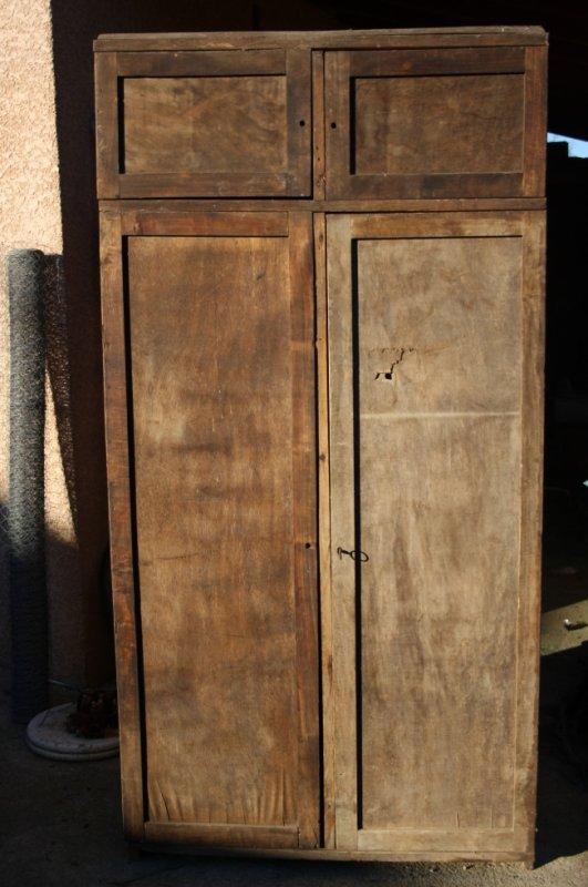 armoire double et lit superpos mat riels militaire 1418 3945. Black Bedroom Furniture Sets. Home Design Ideas