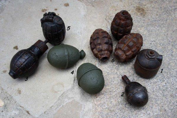 Lot de grenade !