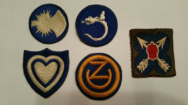 Patch US, WW2.