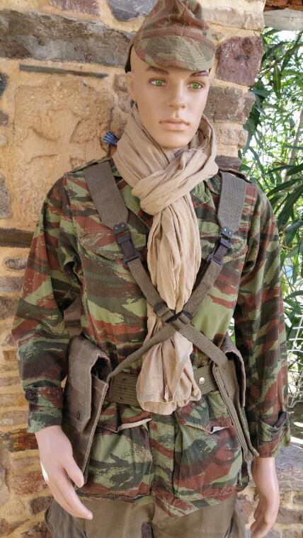 Mannequin commando de chasse guerre Algérie !