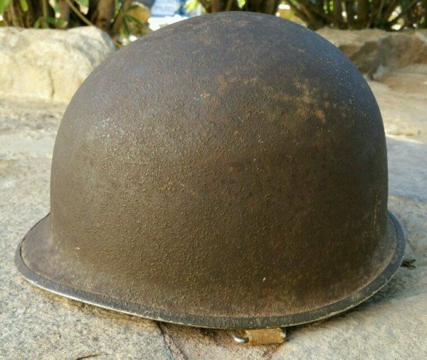 Casque US, WW2.