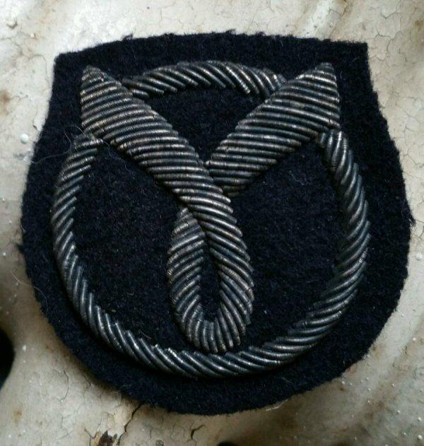 Insigne de la milice, insigne authentique.