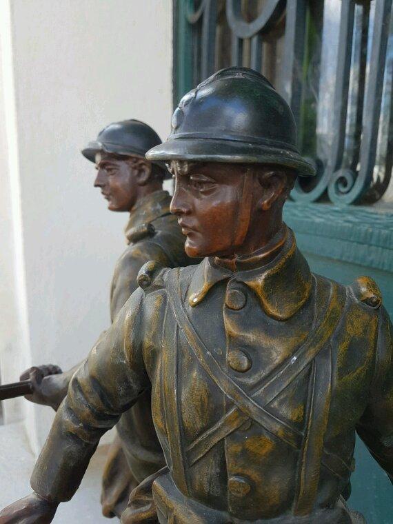 Statut en mémoire de nos soldats de la 1ère guerre.