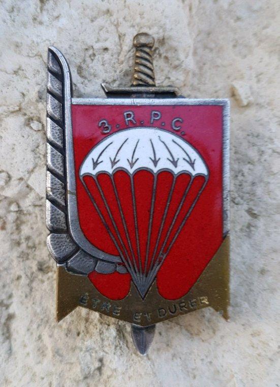 Insigne régiment du 3ème RPC.