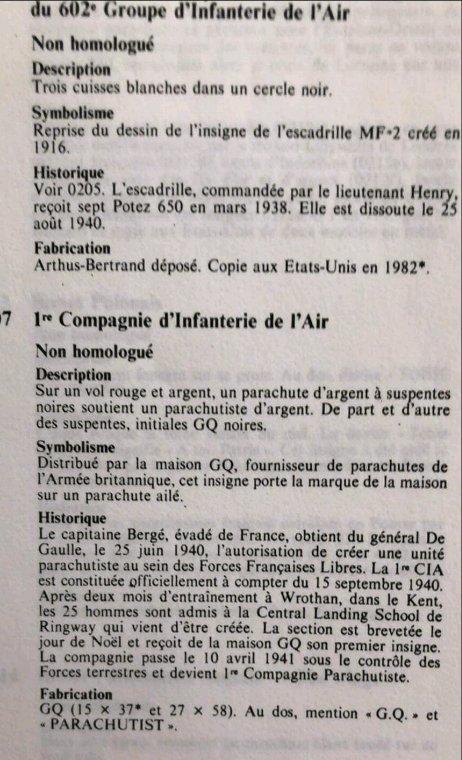 Premier brevet para Français.