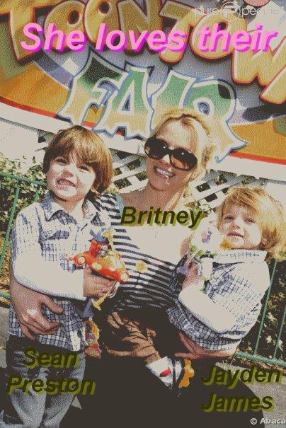 Britney et ses enfants