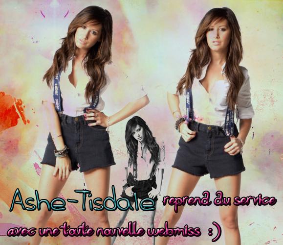 .Suis toute l'actualité d'Ashley Tisdale !  .