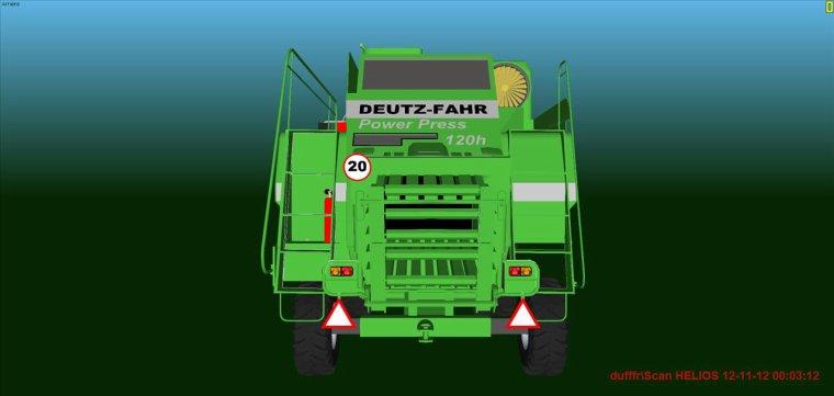 DEUTZ-FAHR Power Press  120h