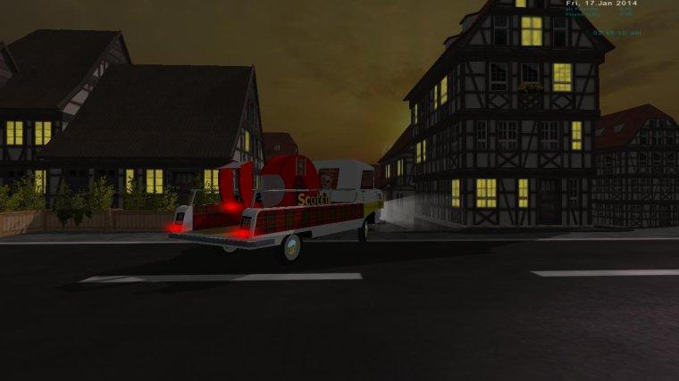 Camions Pub TDF 1960/1970 dans le traffic de Farming Simulator 2013 ref: 1