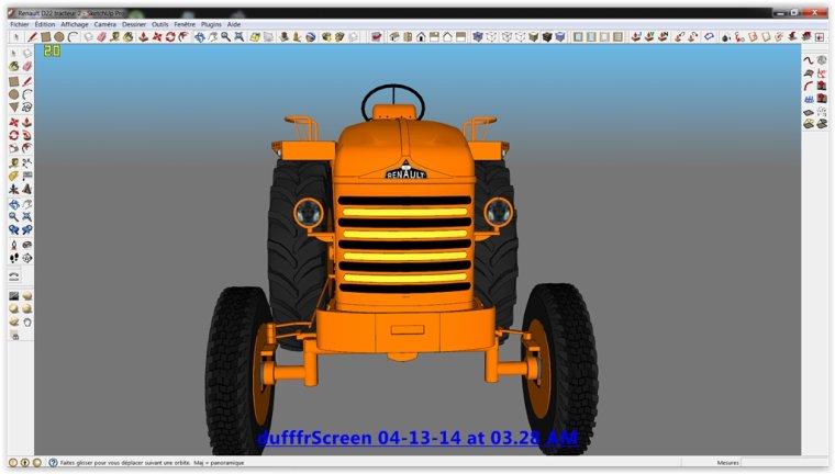 Farming Simulator 2013;  Renault D22 1956/1960-N1