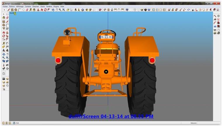 Farming Simulator 2013; Tracteur Renault D22 1956/1960  N2