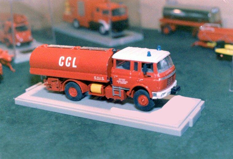 Miniatures 1/43: prototype master pompiers, partie 4