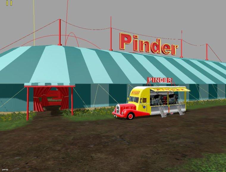 FS 2015; Centrale électrique PINDER 3d, part 3