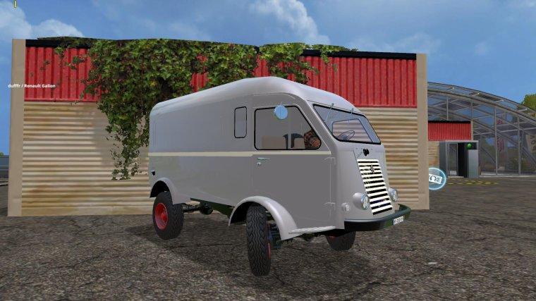 FS 2015;  Renault Galion Fourgon, beta tests, v 00,