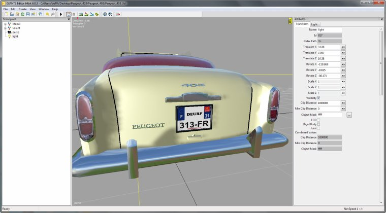 FS 2015:      cabriolet  PEUGEOT 403           p2