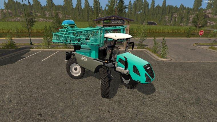 FS17,   Pulvérisateur Automoteur Berthoud Raptor 4250