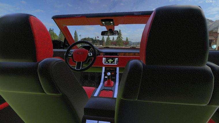 FS17,  Range Rover Evoque Cabriolet  P1